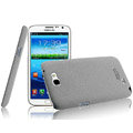 IMAK Cowboy Shell Quicksand Hard Cases Covers for Samsung N7100 GALAXY Note2 - Gray (High transparent screen protector)