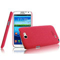 IMAK Cowboy Shell Quicksand Hard Cases Covers for Samsung N7100 GALAXY Note2 - Rose (High transparent screen protector)