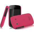 IMAK Ultrathin Matte Color Covers Hard Cases for Gionee GN100 - Rose (High transparent screen protector)