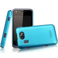 IMAK Ultrathin Matte Color Covers Hard Cases for Gionee GN109 - Blue (High transparent screen protector)