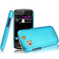 IMAK Ultrathin Matte Color Covers Hard Cases for Gionee GN210 - Blue (High transparent screen protector)