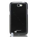 Nillkin Colorful Hard Cases Skin Covers for Samsung N7100 GALAXY Note2 - Black (High transparent screen protector)