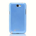 Nillkin Colorful Hard Cases Skin Covers for Samsung N7100 GALAXY Note2 - Blue (High transparent screen protector)
