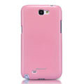 Nillkin Colorful Hard Cases Skin Covers for Samsung N7100 GALAXY Note2 - Pink (High transparent screen protector)