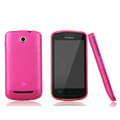 Nillkin Super Matte Rainbow Cases Skin Covers for Coolpad 5860 - Pink (High transparent screen protector)