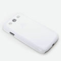ROCK Naked Shell Cases Hard Back Covers for Samsung Galaxy SIII S3 I9300 I9308 I939 I535 - White