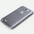 ROCK Naked Shell Cases Hard Back Covers for Samsung N7100 GALAXY Note2 - Gray