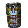Retro Crown Britain flag Hard Back Cases Covers for Samsung Galaxy SIII S3 I9300 I9308 I939 I535