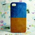 Retro Ukraine flag Hard Back Cases Covers for iPhone 4G/4GS