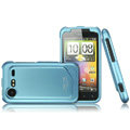 IMAK Armor Knight Color Covers Hard Cases for HTC Incredible S S710E G11 - Blue