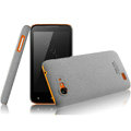 IMAK Cowboy Shell Quicksand Hard Cases Covers for Amoi N820 - Gray (High transparent screen protector)