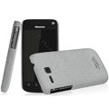 IMAK Cowboy Shell Quicksand Hard Cases Covers for Hisense EG906 - Gray (High transparent screen protector)