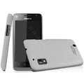 IMAK Cowboy Shell Quicksand Hard Cases Covers for Hisense T96 - Gray (High transparent screen protector)