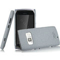 IMAK Cowboy Shell Quicksand Hard Cases Covers for Nokia 801T - Gray (High transparent screen protector)