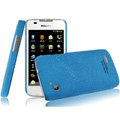 IMAK Cowboy Shell Quicksand Hard Cases Covers for Philips D633 - Blue (High transparent screen protector)