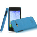 IMAK Cowboy Shell Quicksand Hard Cases Covers for TCL S600 - Blue (High transparent screen protector)