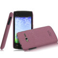 IMAK Cowboy Shell Quicksand Hard Cases Covers for TCL S600 - Purple (High transparent screen protector)