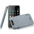 IMAK Cowboy Shell Quicksand Hard Cases Covers for TCL S800 - Gray (High transparent screen protector)