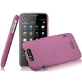 IMAK Cowboy Shell Quicksand Hard Cases Covers for TCL S800 - Purple (High transparent screen protector)