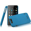 IMAK Cowboy Shell Quicksand Hard Cases Covers for TCL S900 - Blue (High transparent screen protector)