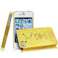 IMAK Scorpio Constellation Color Covers Hard Cases for iPhone 4G\4S - Golden