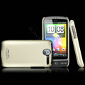 IMAK Titanium Color Covers Hard Cases for HTC A8188 Desire G7 - Gold (High transparent screen protector)