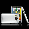IMAK Titanium Color Covers Hard Cases for HTC Desire HD A9191 A9192 G10 - Silver (High transparent screen protector)