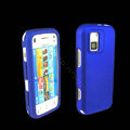 IMAK Ultra-thin Color Covers Hard Cases for Nokia N97 mini - Blue (High transparent screen protector)
