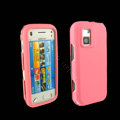 IMAK Ultra-thin Color Covers Hard Cases for Nokia N97 mini - Pink (High transparent screen protector)