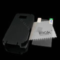 IMAK Ultrathin Color Covers Hard Cases for Nokia 5530 - Black (High transparent screen protector)