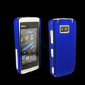 IMAK Ultrathin Color Covers Hard Cases for Nokia 5530 - Blue (High transparent screen protector)