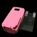 IMAK Ultrathin Color Covers Hard Cases for Nokia 5530 - Rose (High transparent screen protector)