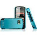 IMAK Ultrathin Color Covers Hard Cases for Nokia 5800 - Blue (High transparent screen protector)