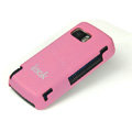 IMAK Ultrathin Color Covers Hard Cases for Nokia 5800 - Pink (High transparent screen protector)
