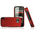 IMAK Ultrathin Color Covers Hard Cases for Nokia 5800 - Red (High transparent screen protector)
