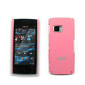 IMAK Ultrathin Color Covers Hard Cases for Nokia X6 - Pink (High transparent screen protector)