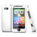 IMAK Ultrathin Matte Color Covers Hard Back Cases for HTC Desire Z T-Mobile G2 - White (High transparent screen protector)