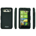 IMAK Ultrathin Matte Color Covers Hard Back Cases for HTC HD7 T9292 - Black (High transparent screen protector)