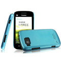 IMAK Ultrathin Matte Color Covers Hard Cases for Hisense E910 - Blue (High transparent screen protector)