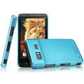 IMAK Ultrathin Matte Color Covers Hard Cases for Hisense ET919 - Blue (High transparent screen protector)
