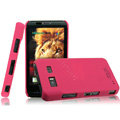 IMAK Ultrathin Matte Color Covers Hard Cases for Hisense ET919 - Rose (High transparent screen protector)