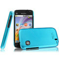 IMAK Ultrathin Matte Color Covers Hard Cases for Hisense T92 - Blue (High transparent screen protector)