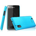IMAK Ultrathin Matte Color Covers Hard Cases for Hisense T96 - Blue (High transparent screen protector)