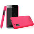 IMAK Ultrathin Matte Color Covers Hard Cases for Hisense T96 - Rose (High transparent screen protector)
