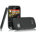 IMAK Ultrathin Matte Color Covers Hard Cases for Nokia 702T - Black (High transparent screen protector)