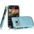 IMAK Ultrathin Matte Color Covers Hard Cases for Nokia 702T - Blue (High transparent screen protector)