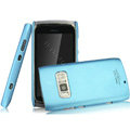 IMAK Ultrathin Matte Color Covers Hard Cases for Nokia 801T - Blue (High transparent screen protector)