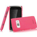 IMAK Ultrathin Matte Color Covers Hard Cases for Nokia 801T - Rose (High transparent screen protector)
