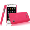 IMAK Ultrathin Matte Color Covers Hard Cases for Philips D633 - Rose (High transparent screen protector)