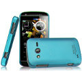 IMAK Ultrathin Matte Color Covers Hard Cases for Philips W626 - Blue (High transparent screen protector)